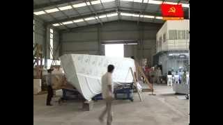 Việt Nam đóng tàu khách lớn nhất bằng vật liệu PPC