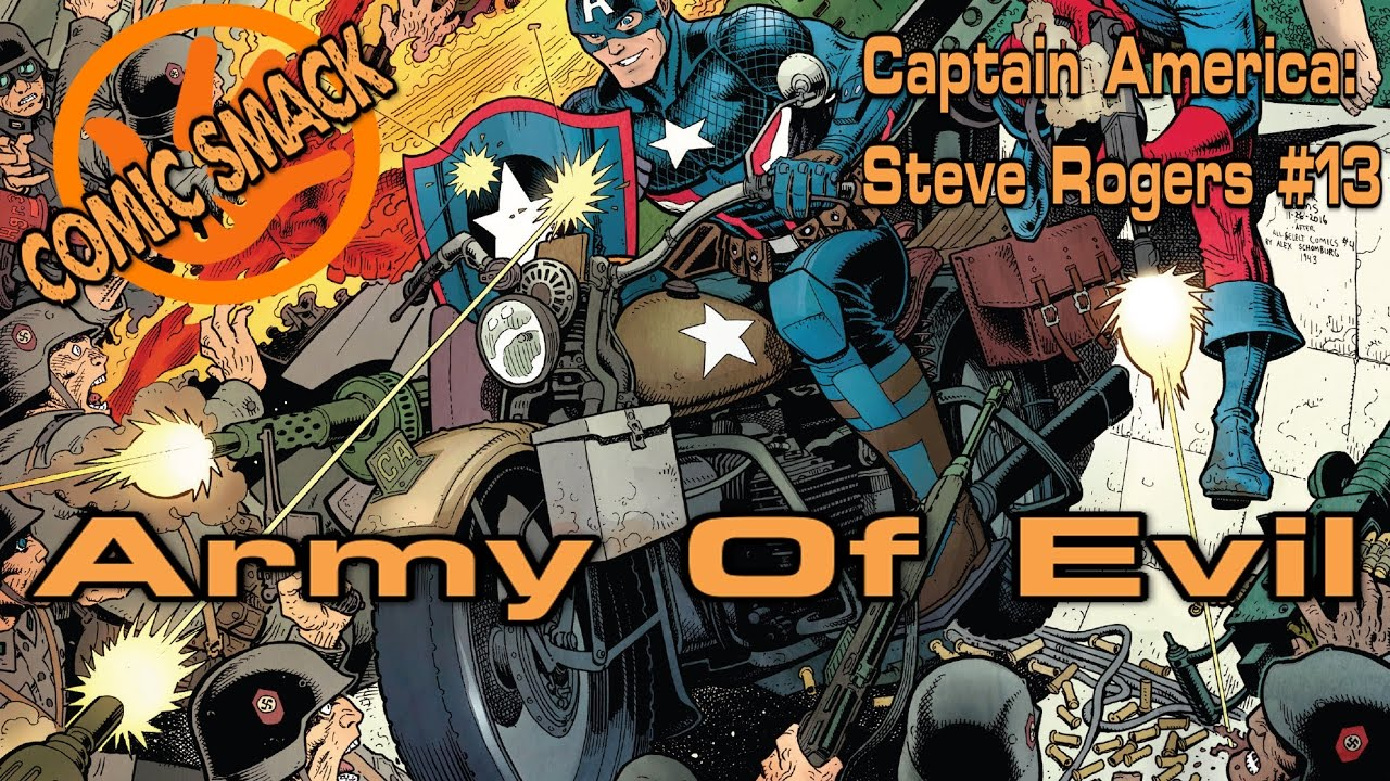 """Army Of Evil"" Captain America Steve Rogers #13"