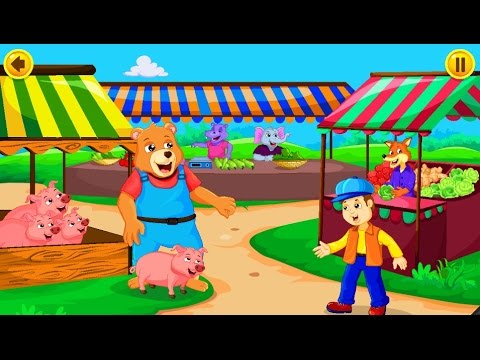 To Market To Market Song with Lyrics | Nursery Rhymes | Songs For Kids
