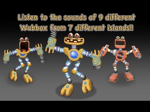 OMG 9 Wubbox!!! HEAR THEM ALL!!!