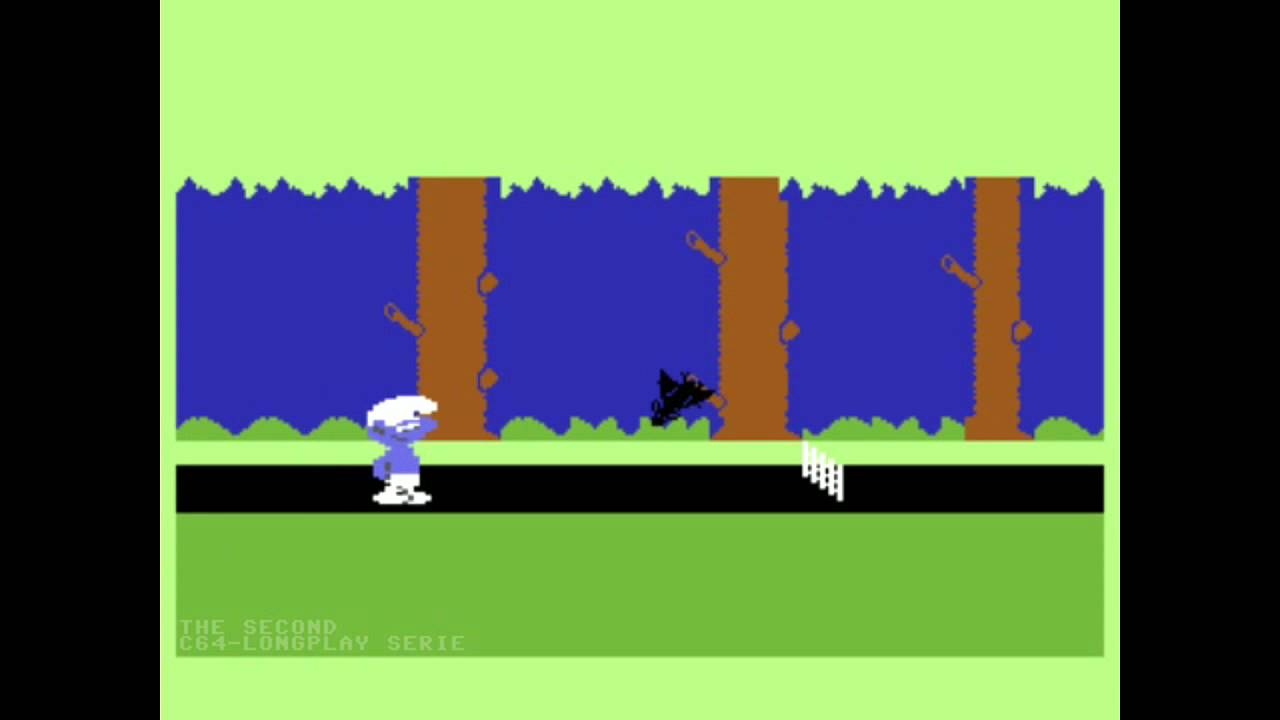 "The Commodore 64 game ""Smurfen"""