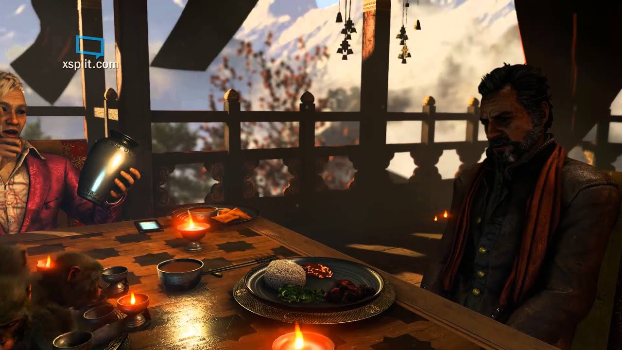 Far cry 4 ps4 gameplay 1080p 60 fps webcam