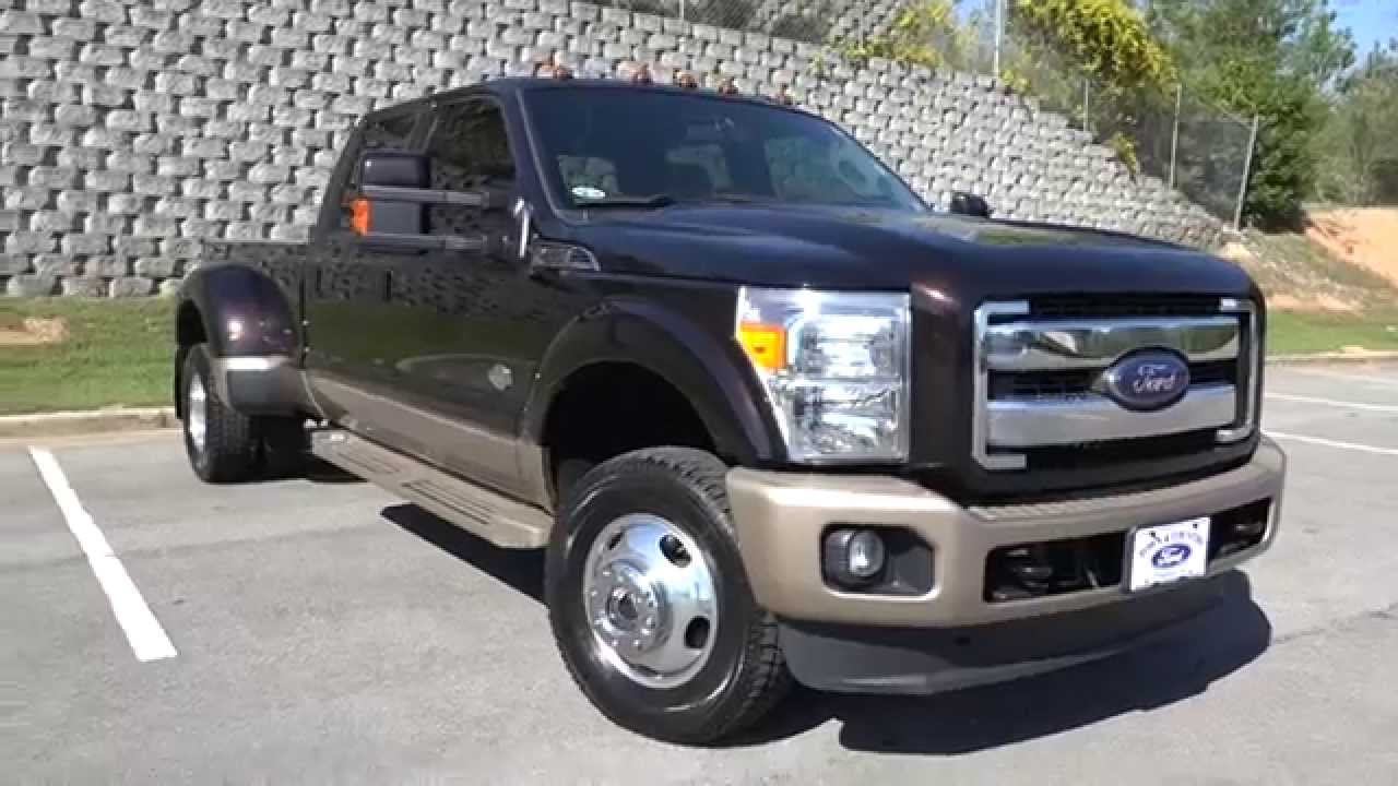 2014 ford f 350 king ranch walkaround youtube