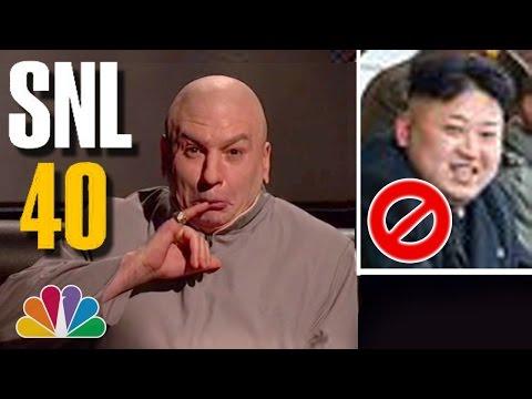 Dr Evil SNL 2014 Dr. Evil Mike Myers Austin Powers Saturday Night Live Sony North Korea 12/20/2014