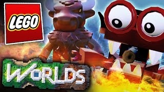 Lego Worlds Update 1 - Minotaurs and Robots!