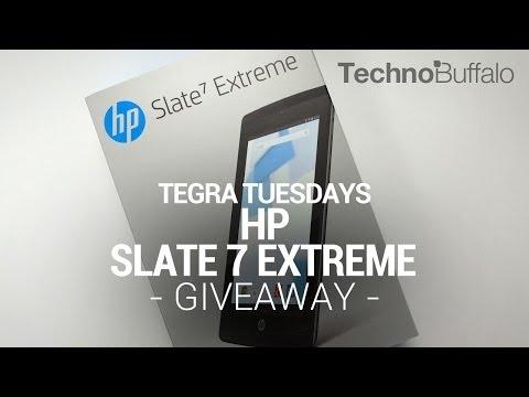 Tegra Tuesday Giveaway: HP Slate 7 Extreme