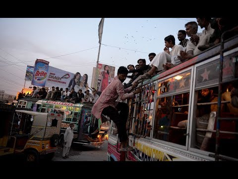 Documentary On Public Transport System In Karachi, Pakistan