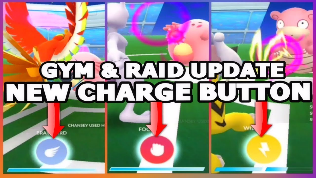 POKEMON GO NEW CHARGE BUTTON, SAVE TEAMS,BATTLE LOG & MORE