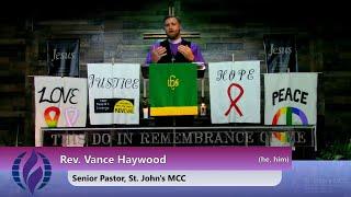 1/17/2021 Sunday Morning Worship at St. John's MCC