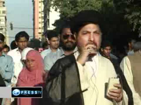 Pakistanis rally in support of Arab uprisings blaming Obama and US puppet regimes
