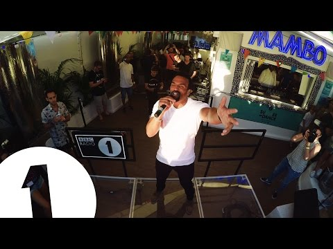 Craig David Live at Mambo for Radio 1 in Ibiza 2016