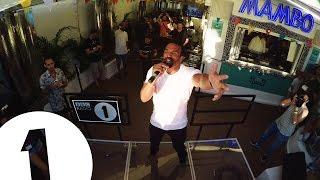 Craig David Live at Mambo for Radio 1 in Ibiza 2016