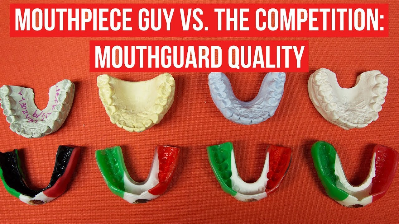 Mouthpiece Guy Vs  The Competition: Mouthguard Quality - YouTube