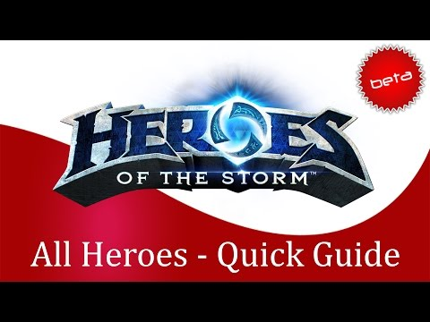 Heroes of the Storm - All Heroes Quick Buyers Guide for Ranked Gameplay (Thrall Patch)