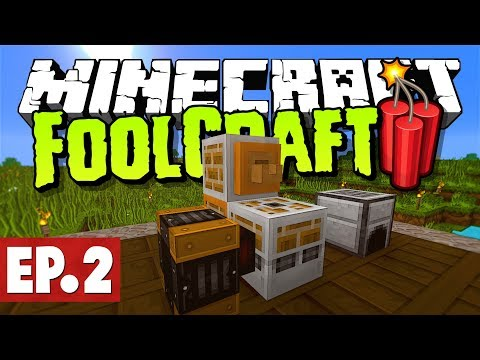 Minecraft FoolCraft 3 - Foundry Ore Doubling! #2 [Modded Survival]