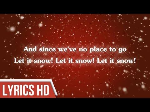 Let it Snow! Let it Snow! Let it Snow! - Blake Shelton ( Lyric Video)