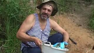 Рыбалка на реке Устья Июль 2011 г