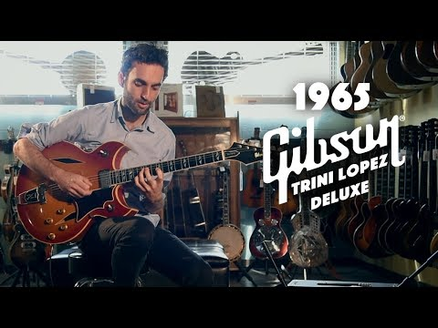 1965 Gibson Trini Lopez Deluxe played by Julian Lage