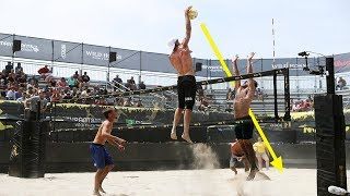 TOP 50 Poweful Beach Volleyball Spikes | 2018 FIVB Beach Volleyball World Tour