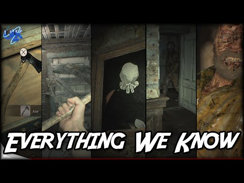 Resident Evil 7 Secrets - Dummy Finger, Axe, Ghosts, All Endings, Everything We Know So Far