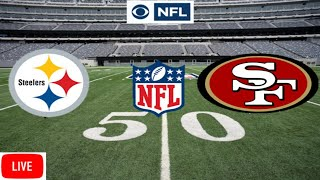Pittsburgh Steelers vs. San Francisco 49ers | Live Stream | Play-by-Play, Reaction | 2019 NFL Week 3