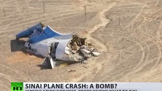 Sinai plane crash: Bomb theory prevails while probe still ongoing