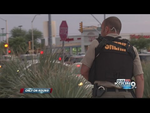 Only on 9: Pima County Sheriff's night detective helps arrest bank robber