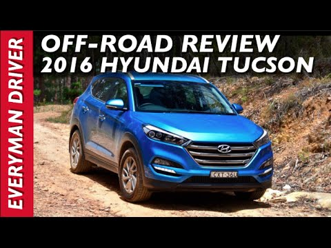 Off Road Drive 2016 Hyundai Tucson Awd Review On Everyman Driver