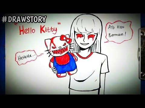 Asal Usul Boneka Hello Kitty || DRAWSTORY