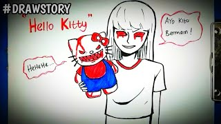 Gambar cover Asal Usul Boneka Hello Kitty || DRAWSTORY