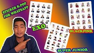 Cara Menambahkan Sticker K-Pop Ke Whatsapp Massanger