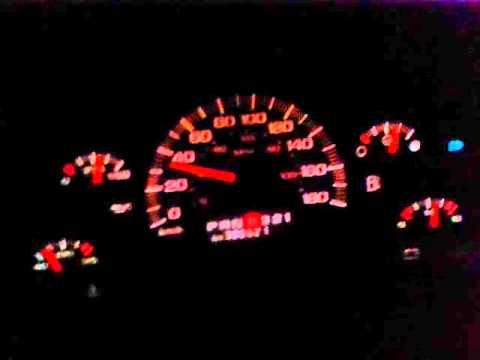 1998 GMC Safari 0-120km Acceleration