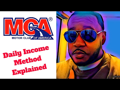 Motor Club of America | Daily Income Method | Daily Income Method | Motor Club of America Review