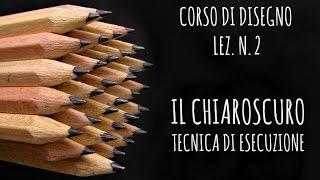 Corso di Disegno Lez.n. 2: Il CHIAROSCURO,le differenti tecniche di esecuzione (Disegno) Arte per Te