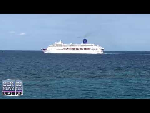 Oriana, First Cruise Ship of 2019 Arrives, Jan 13 2019