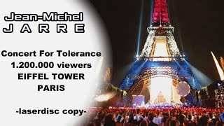 JEAN MICHEL JARRE PARIS EIFFEL TOWER FRANCE [upscale 1080p HD]