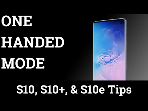 How To Enable One Handed Mode On The Galaxy S10