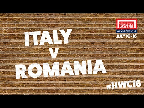 Italy v Romania l Group E #HWC2016