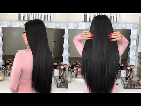 SLEEK STRAIGHT HAIR | *SUPER EASY* VOIR HAIRCARE