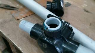Video How to re-use glued ABS or PVC pipe fittings download MP3, 3GP, MP4, WEBM, AVI, FLV Juli 2018