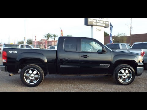 2008 GMC Sierra 1500 4x4 At WWW.PRICEDRIGHTAUTOSALES.COM 2020 W DEER VALLEY RD PHX AZ