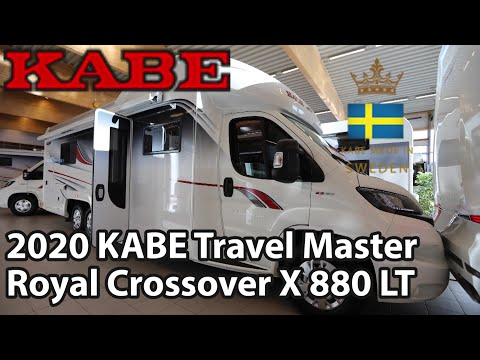 KABE TM Royal Crossover X880 LT 2020 Motorhome 8,78 M