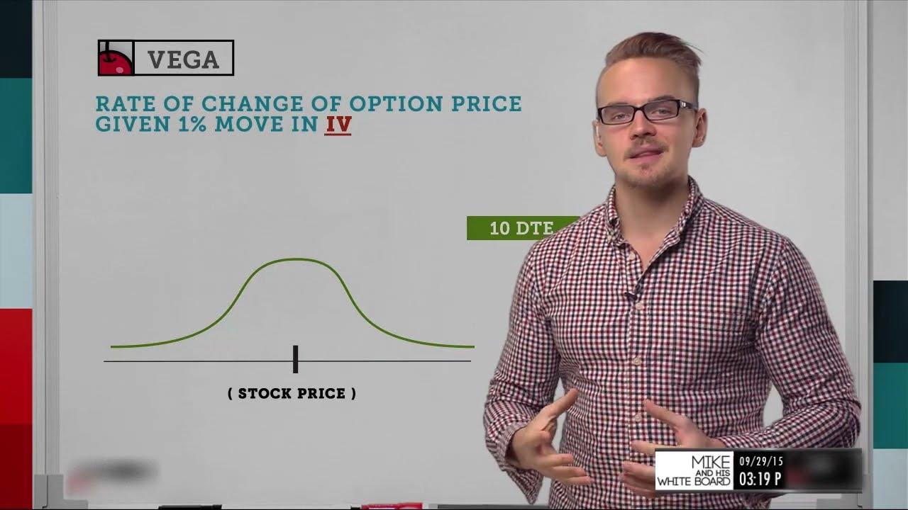 Vega in options trading