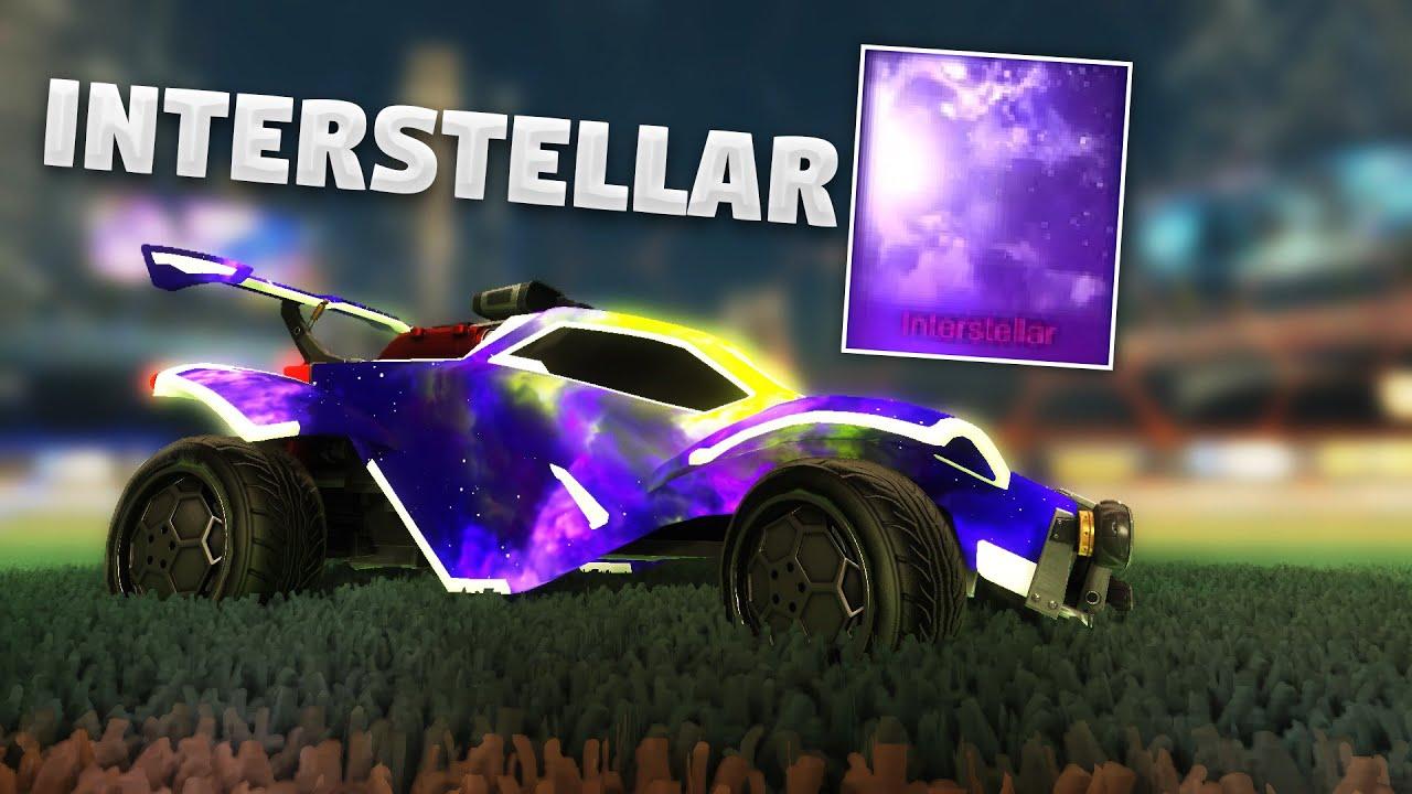 All Painted Interstellar Black Market Decals On Rocket League Youtube