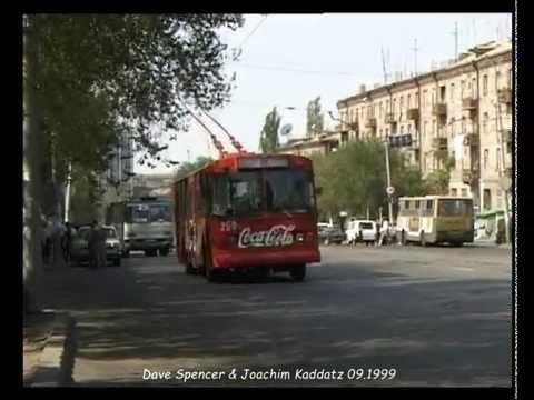 Yerevan (Armenia) Երեւան / Trolleybus / տրոլեյբուս / Obus  - 09.1999