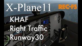 【空港】ハーフムーンベイ空港(KHAF),Runway 30 https://store.x-plan...