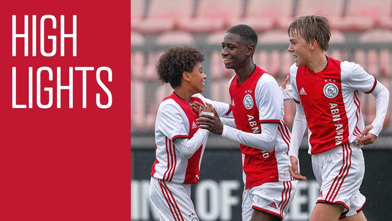 Highlights Ajax O15 Feyenoord O15 Youtube