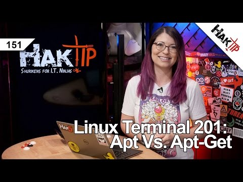 Linux Terminal 201: Apt vs Apt-Get - HakTip 151