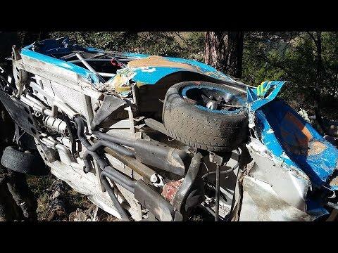 Accidente de Cervantes en Mimbres, penúltima etapa Carrera Panamericana 2015