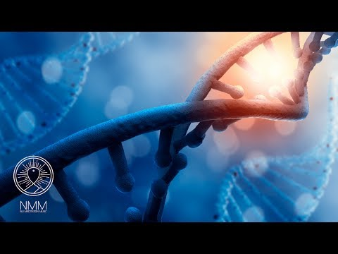 528HZ Music: Repairs DNA & increases live energy, healing meditation music, frequency music 30506R
